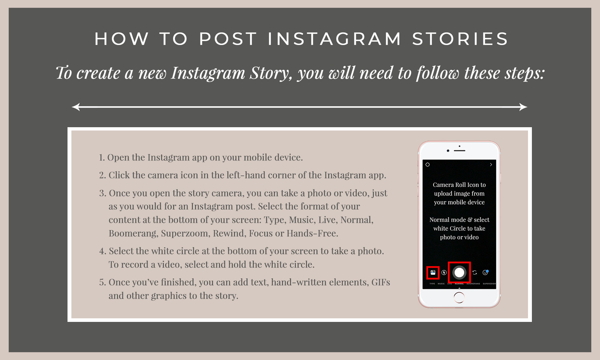 How to post Instagram Stories