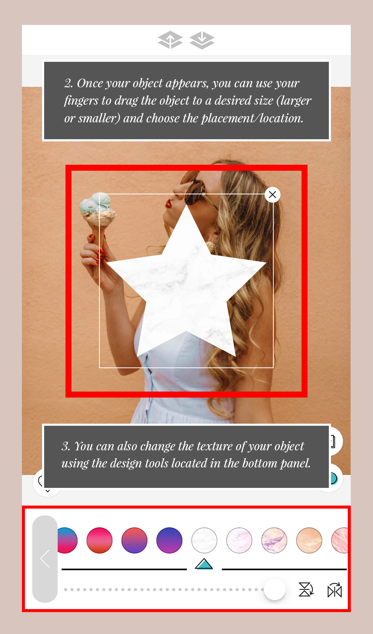 App to edit pictures