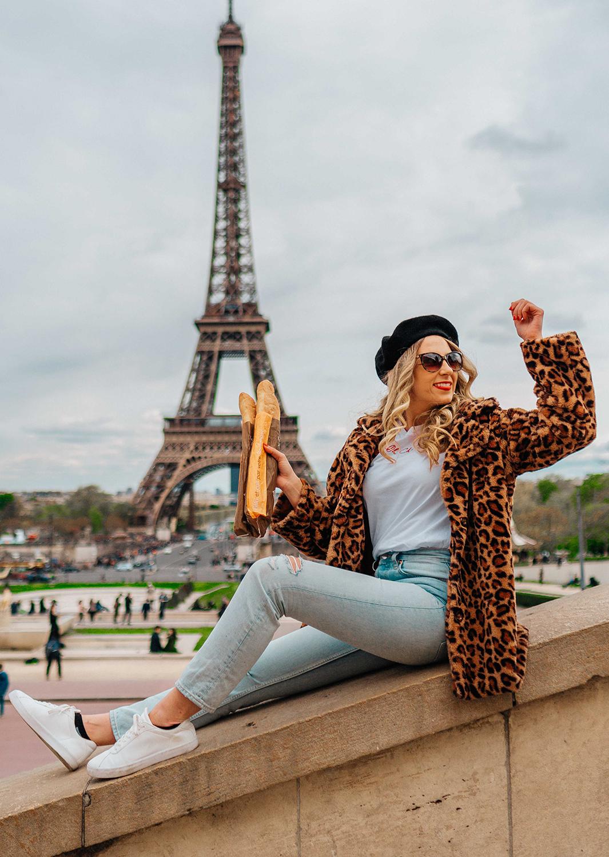 View of Eiffel Tower from Trocadéro