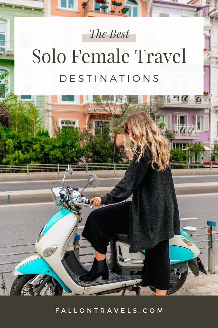 safest countries for solo female travelers