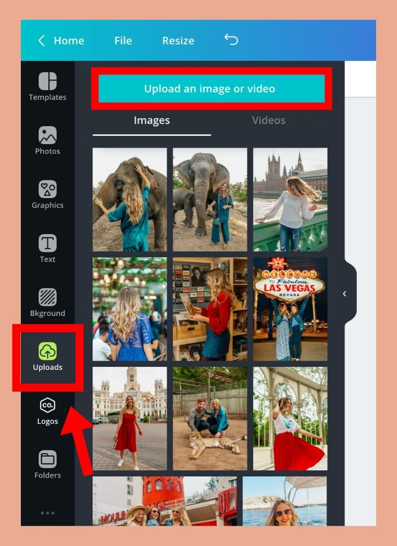 how to use Canva to add fun doodles to instagram photos