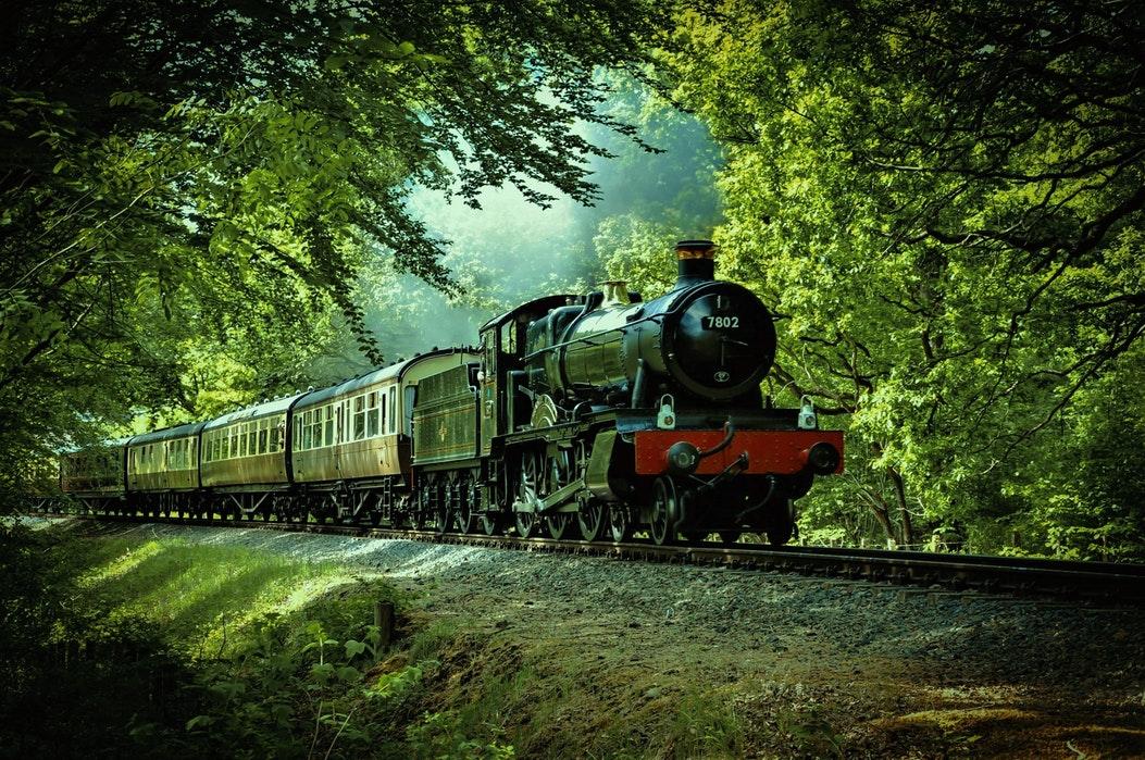 Prøv gjerne å booke en tur med damplokomotiv analogt