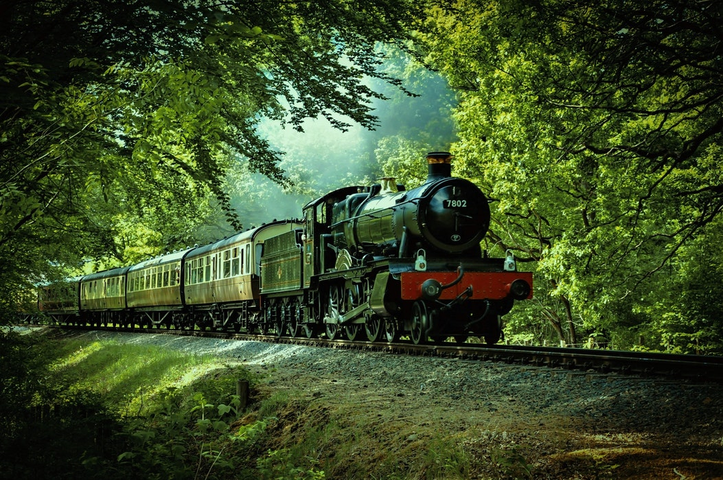 Try booking a steam locomotive analogue