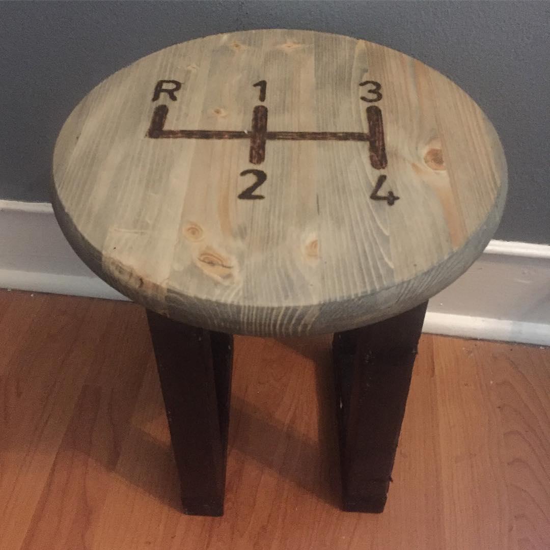 Shift Knob Table