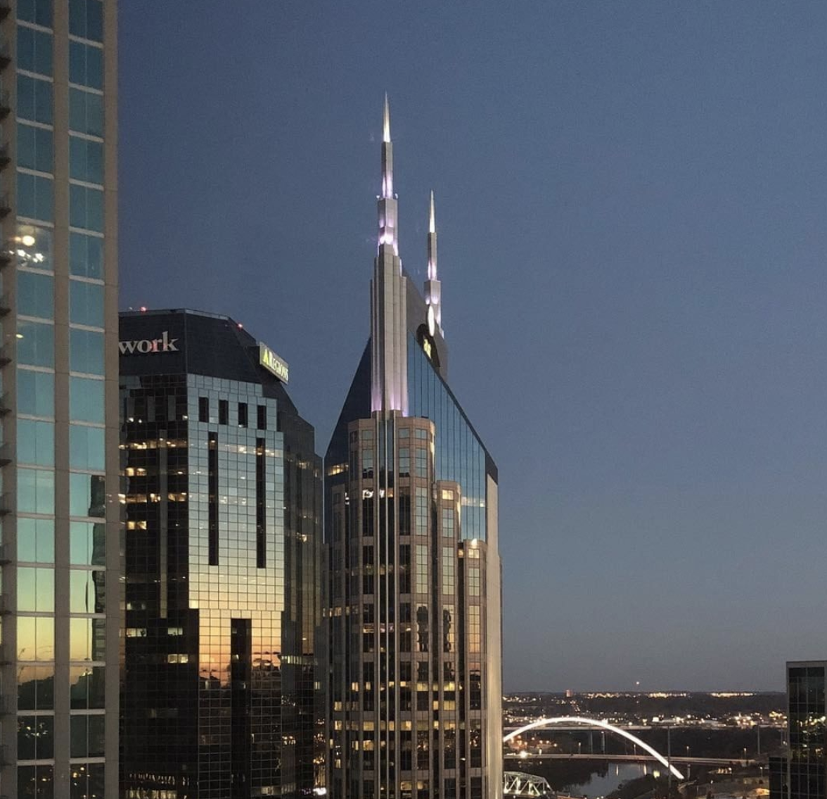 """With room views like this, you'll always have the chance to wish Nashville a good night."" @omninashville instagram"