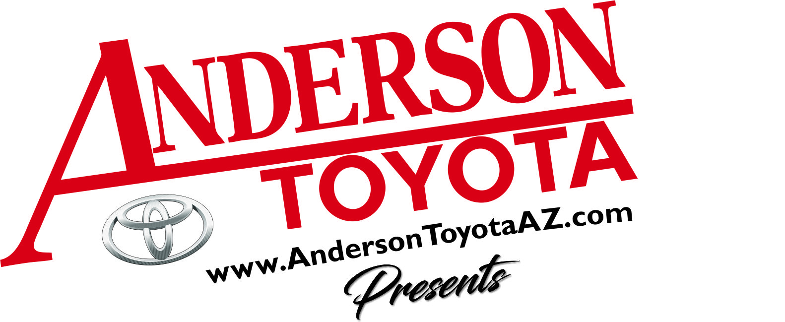 2019 Event Sponsor - Huzzah to Anderson Toyota for making our event possible!