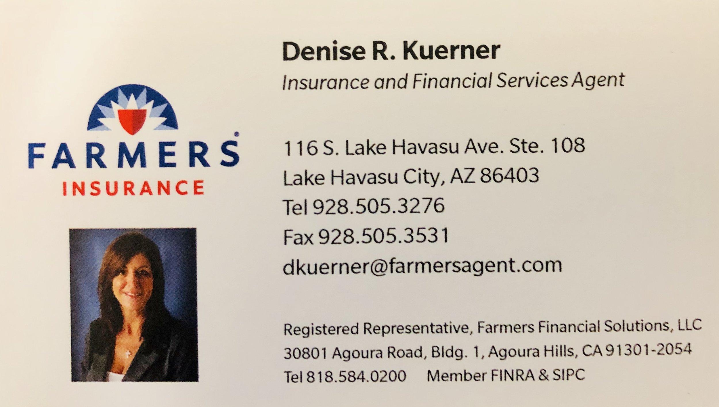 Denise Kuerner/Farmers Insurance