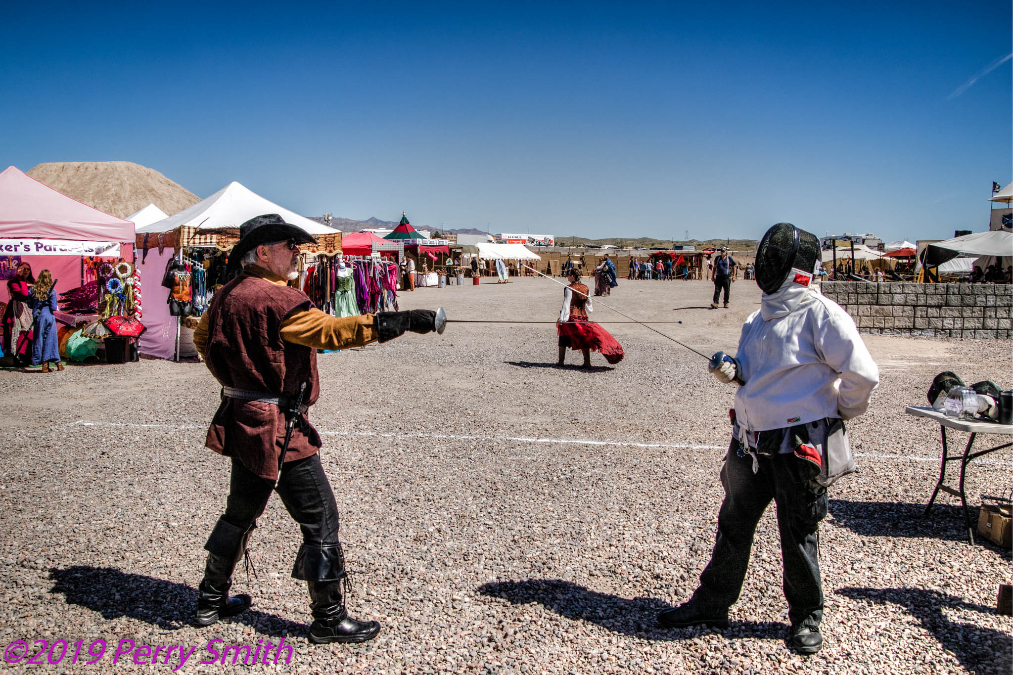 Sword Fighting school. One of our free educational activities