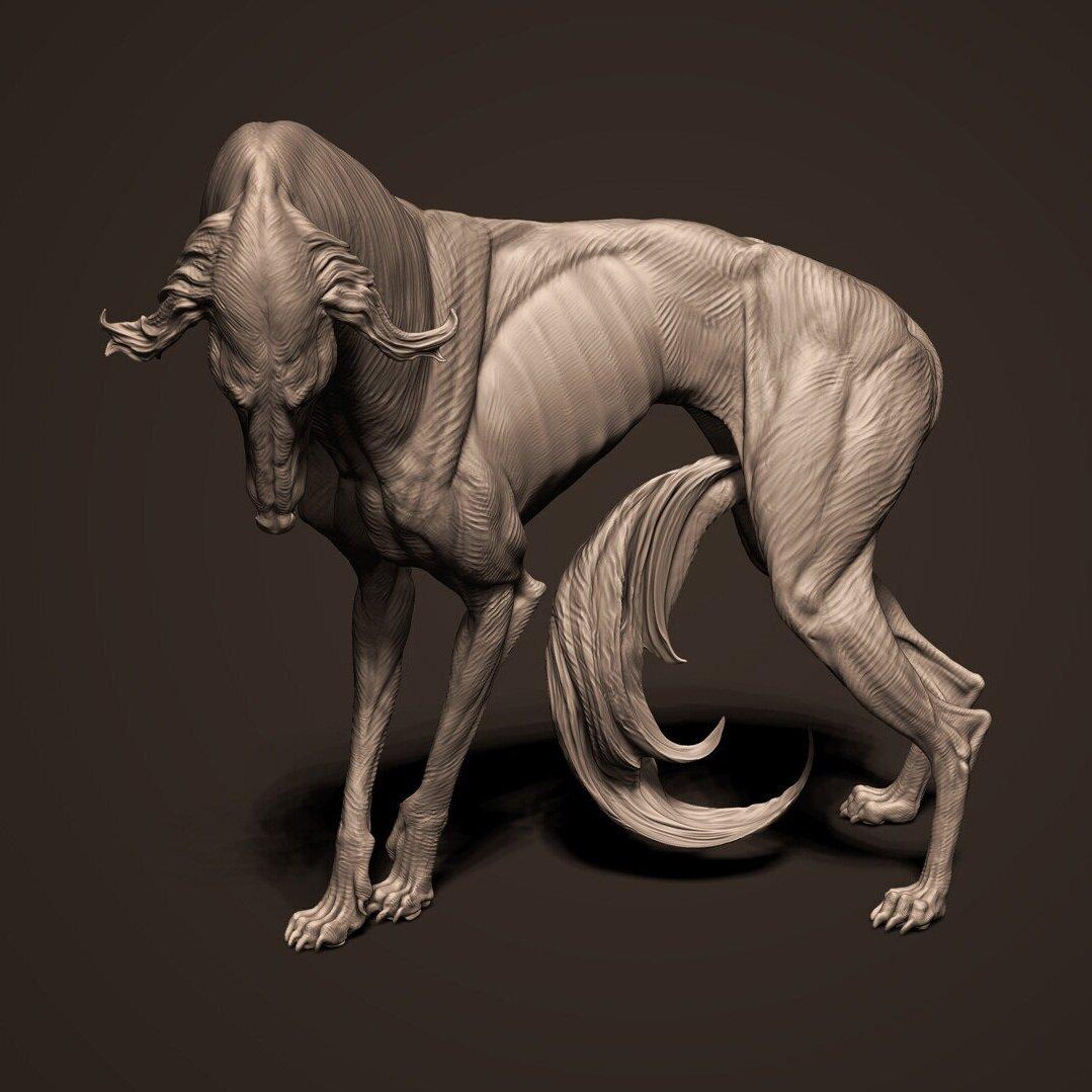 Creature Art - Krystal Sae Eua | Lead Character / Creature Artist