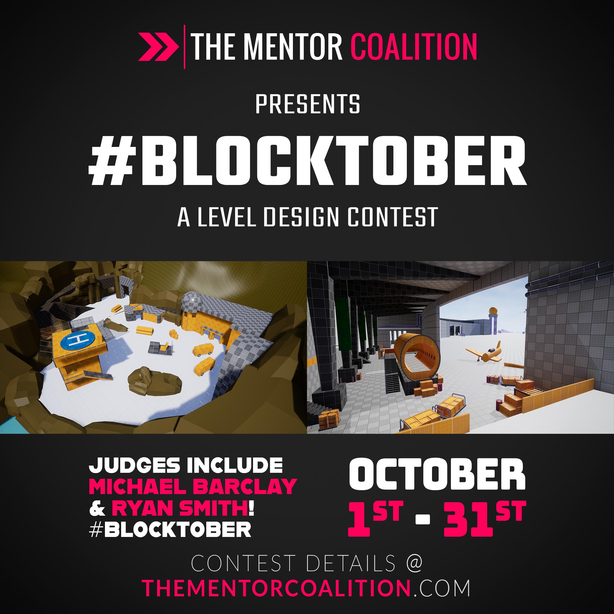 #BLOCKTOBER 19 - A Level Design Contest