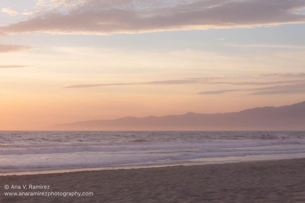 pastel sunset photograph