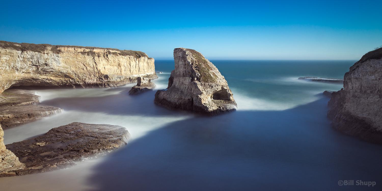 Shark Fin Cove, California
