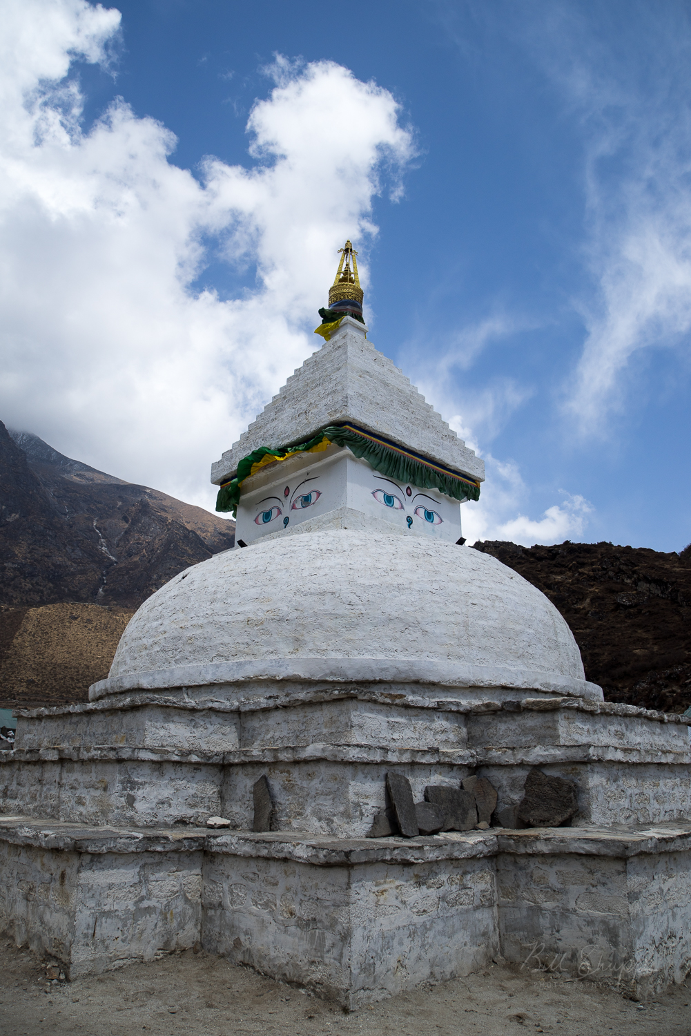 Stupa in Khumjung Village