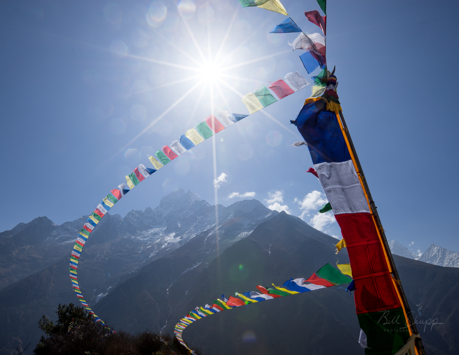 Prayer Flags in the Sun