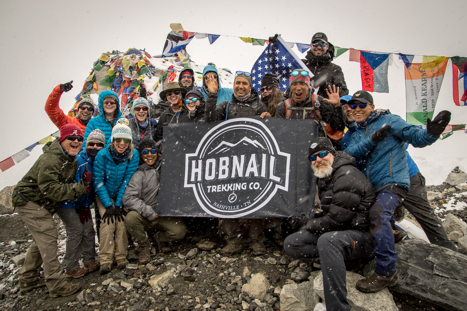 Success!  The Hobnail Group made it to Everest Base Camp