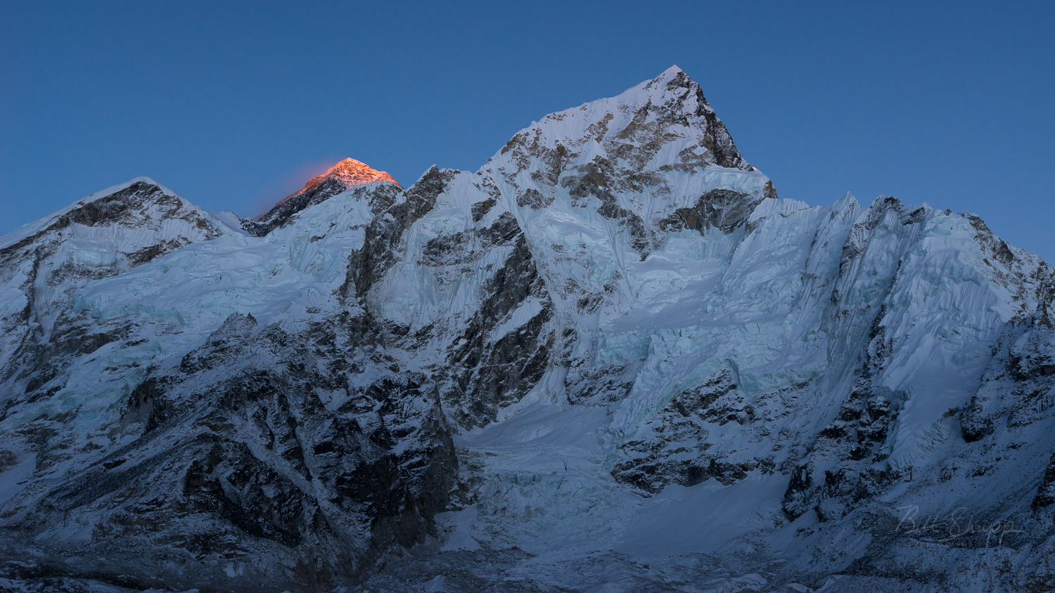 Last Light on Mt. Everest