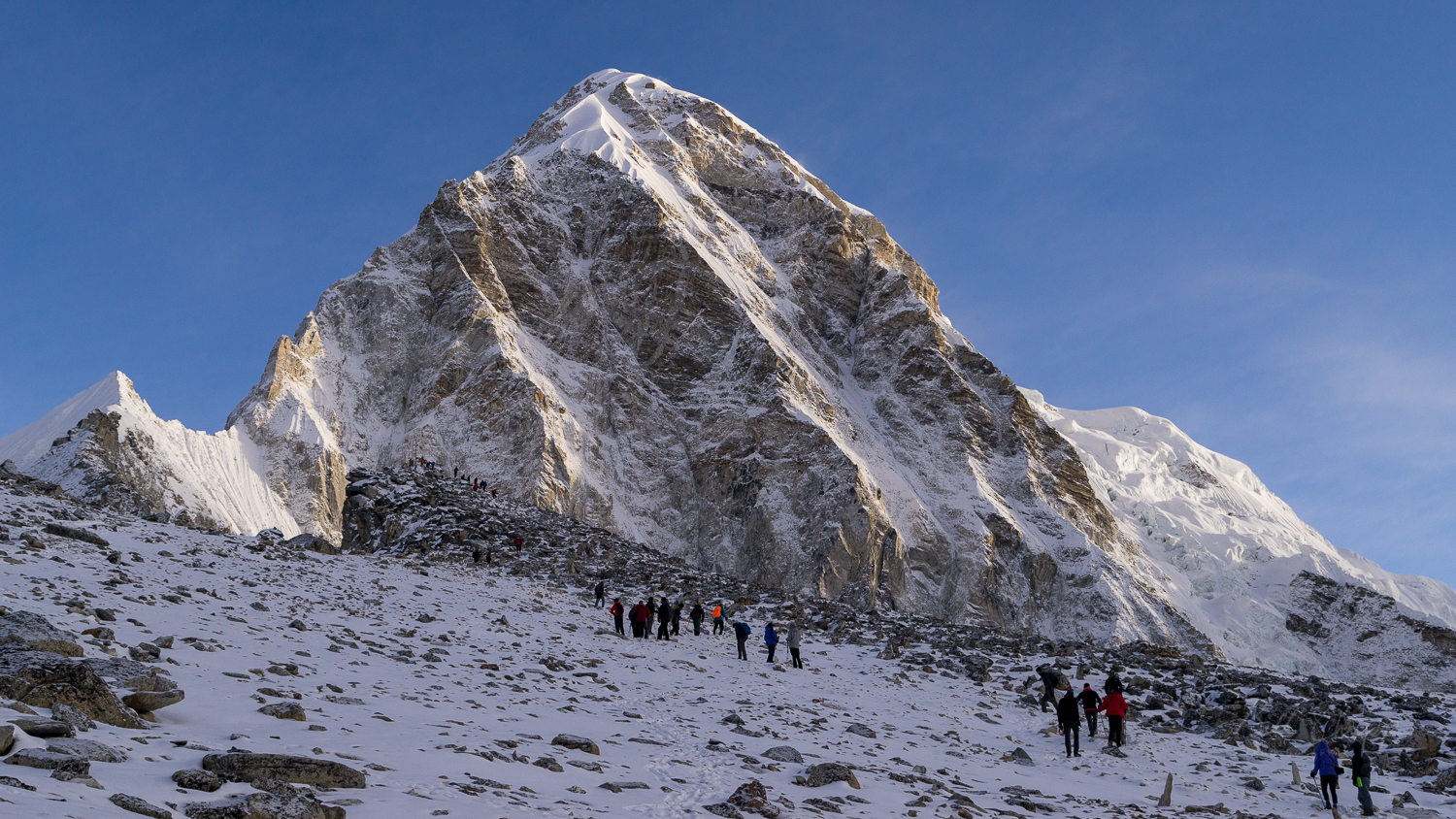 Kala Patthar Summit and Pumori