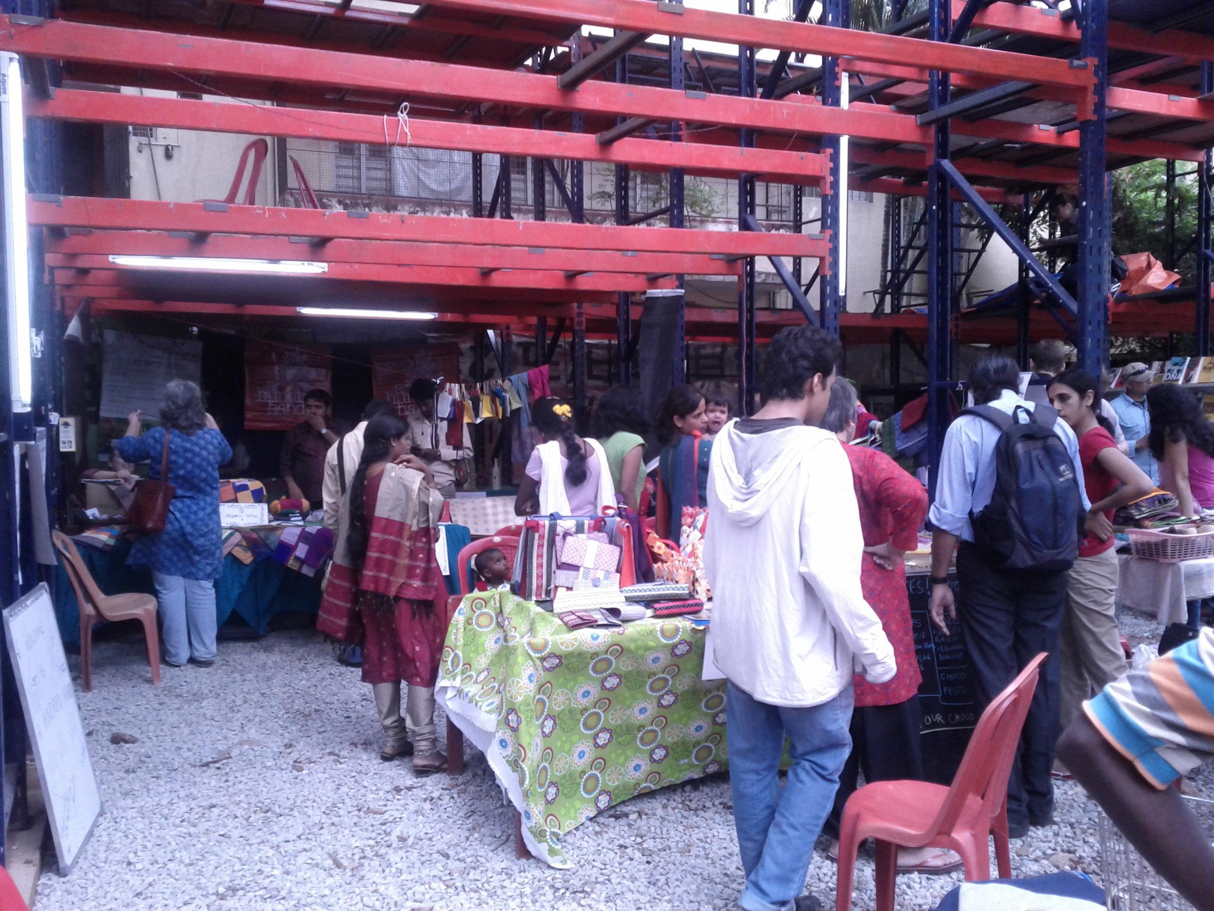 Jaaga flea market