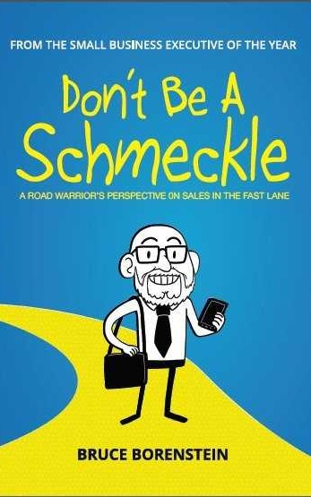 Don't Be A Schmeckle - This book speaks volumes to newbies as well as to seasoned sales leaders. In it, author Bruce Borenstein Shares his 30+ years of sales and sales management experience - delightfully dispelling the notion of formula selling. Borenstein shows us that it's often the little things, easily implemented steps, which can have a powerful, and immediate impact upon success.