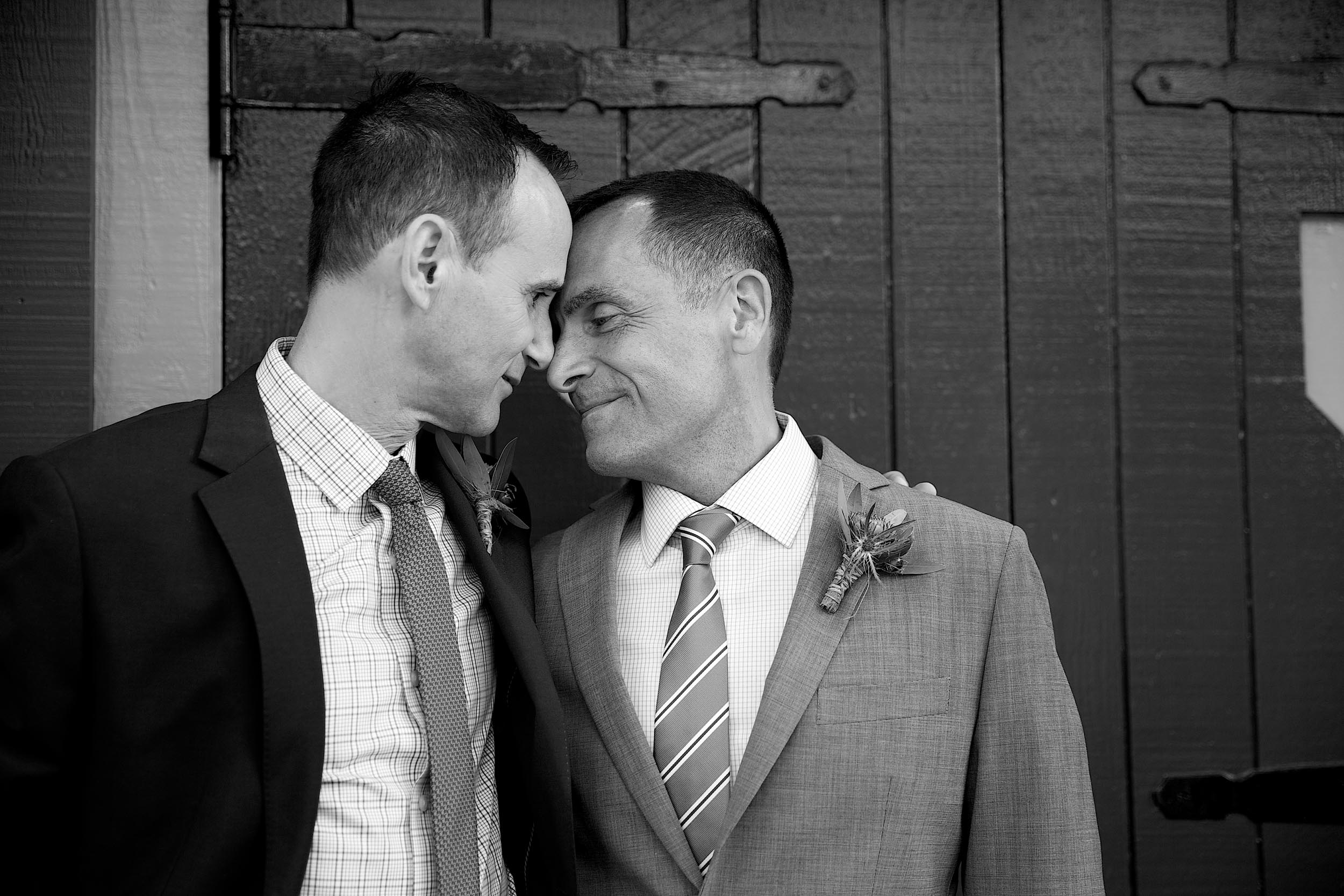 San Francisco gay wedding at Forest Hill Clubhouse