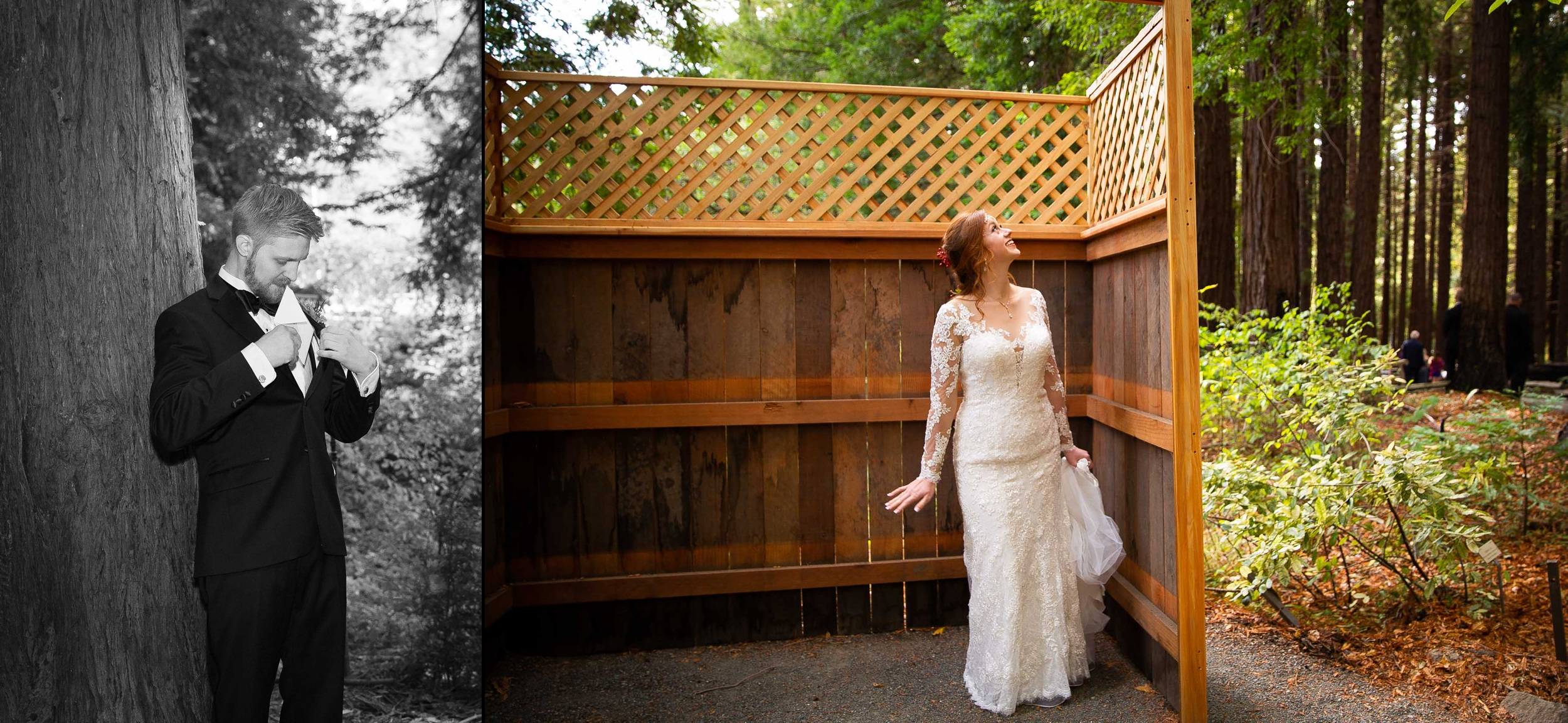 Berkeley Botanical Garden Wedding Ceremony in the Redwood Grove Ceremony and SF Bay Wedding Cruise Reception-19.jpg