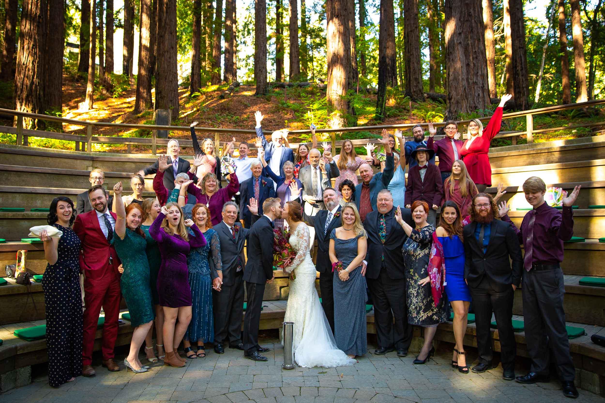 Berkeley Botanical Garden Wedding Ceremony in the Redwood Grove Ceremony and SF Bay Wedding Cruise Reception-44.jpg