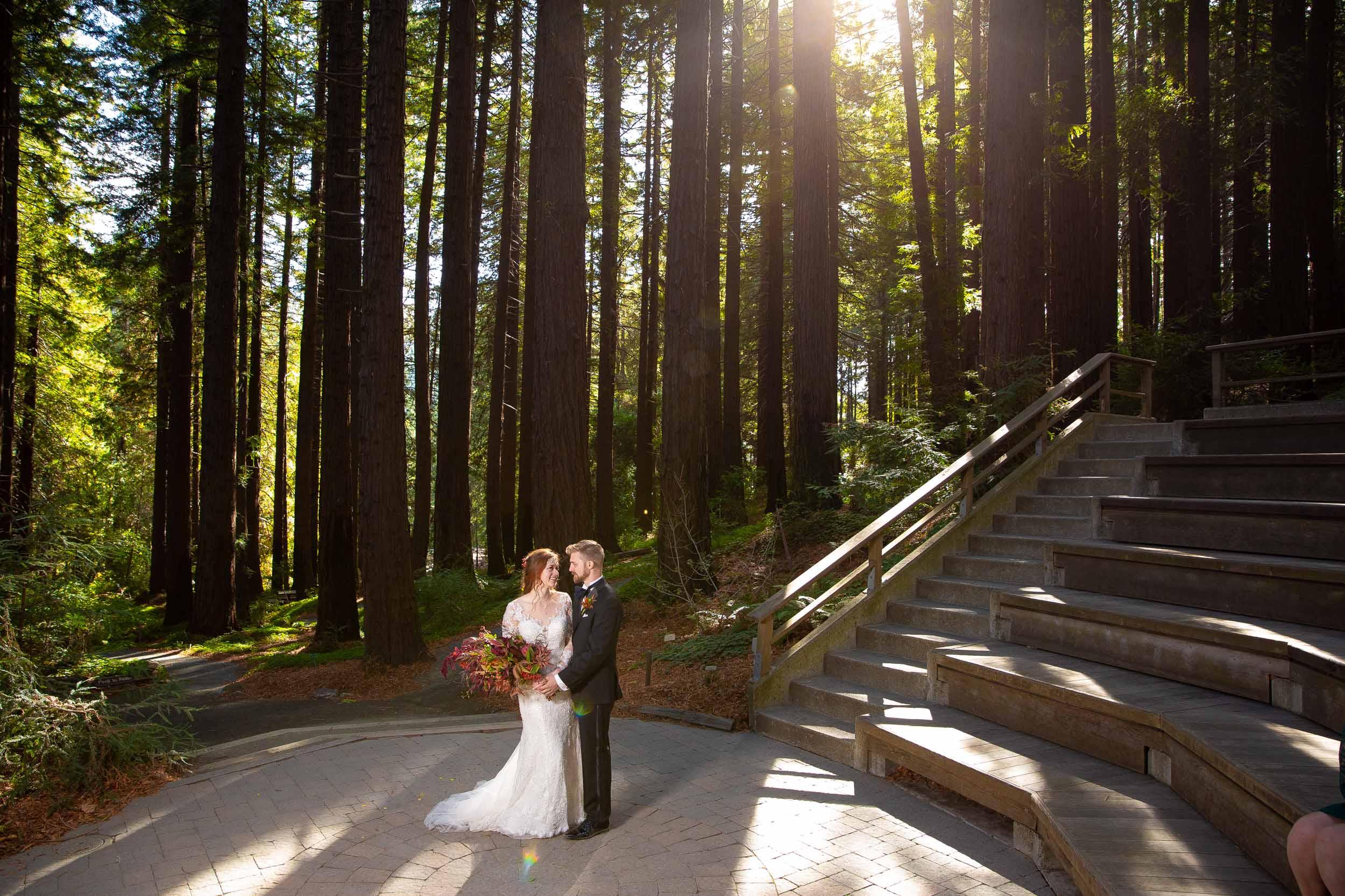 Berkeley Botanical Garden Wedding Ceremony in the Redwood Grove Ceremony and SF Bay Wedding Cruise Reception-47.jpg
