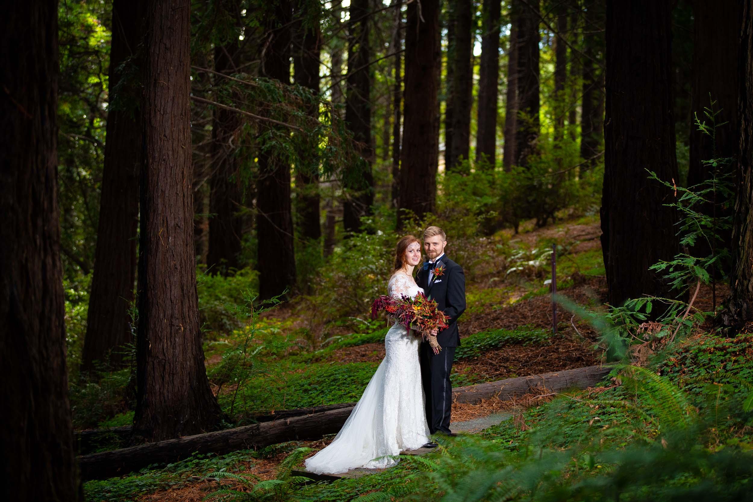 Berkeley Botanical Garden Wedding Ceremony in the Redwood Grove Ceremony and SF Bay Wedding Cruise Reception-51.jpg