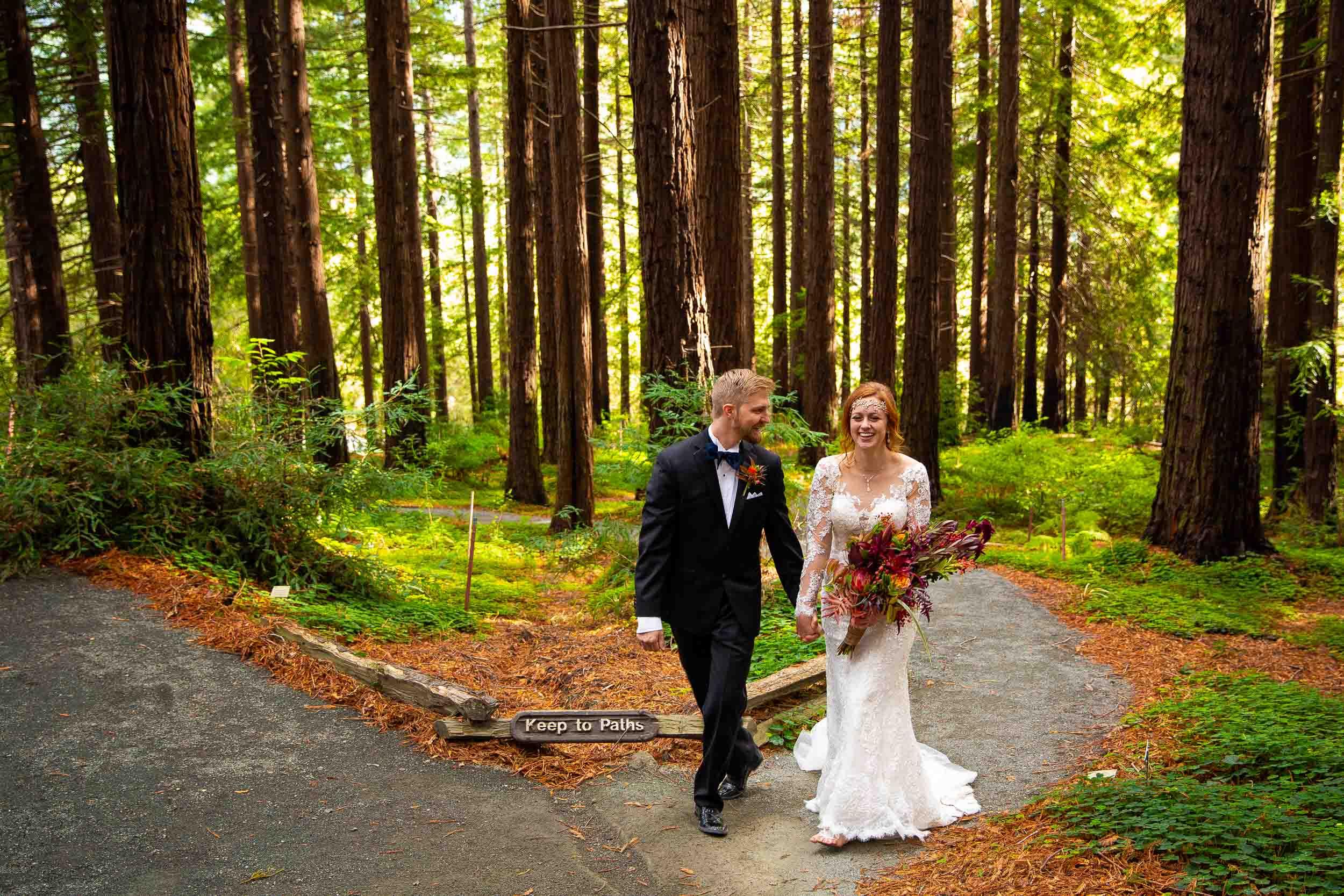 Berkeley Botanical Garden Wedding Ceremony in the Redwood Grove Ceremony and SF Bay Wedding Cruise Reception-53.jpg