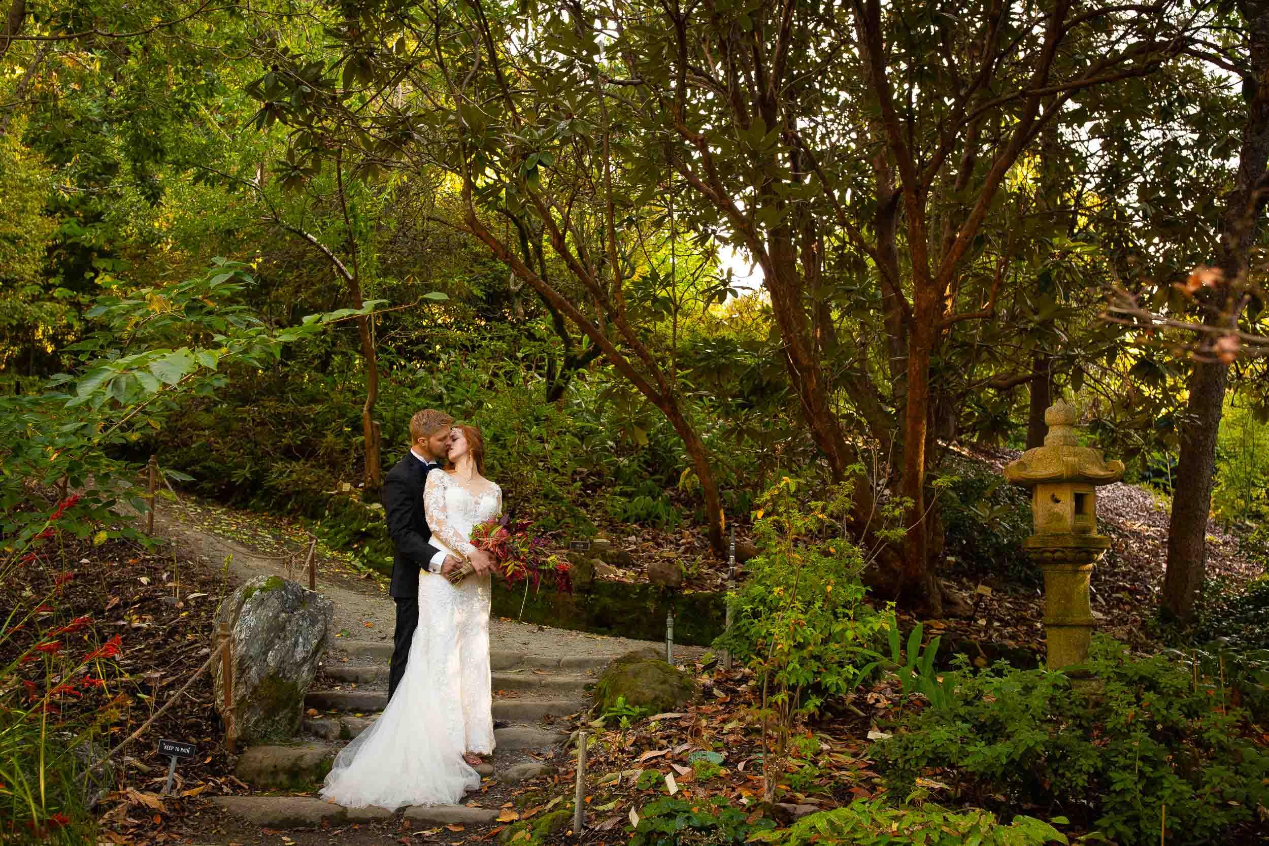 Berkeley Botanical Garden Wedding Ceremony in the Redwood Grove Ceremony and SF Bay Wedding Cruise Reception-56.jpg
