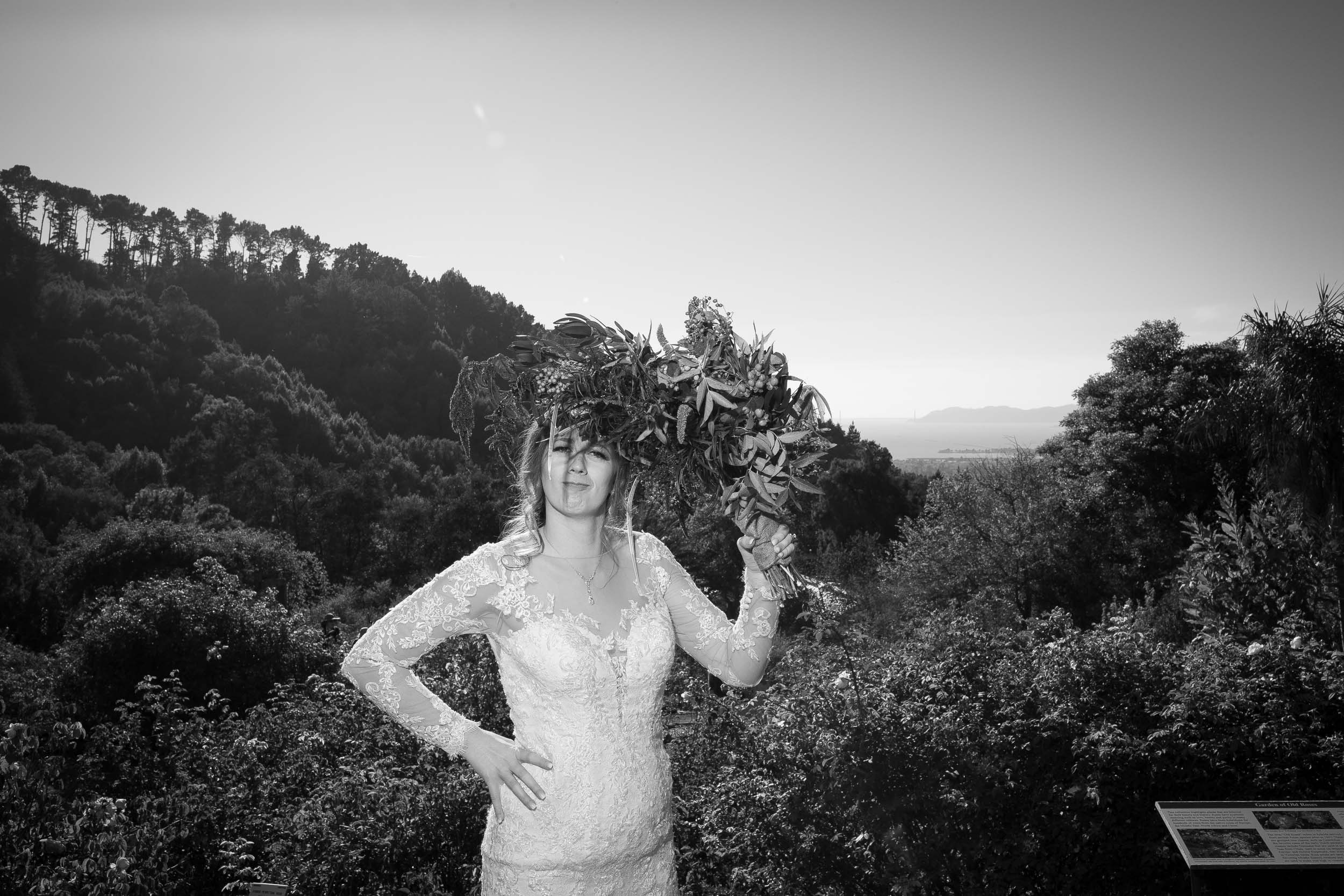 Berkeley Botanical Garden Wedding Ceremony in the Redwood Grove Ceremony and SF Bay Wedding Cruise Reception-57.jpg