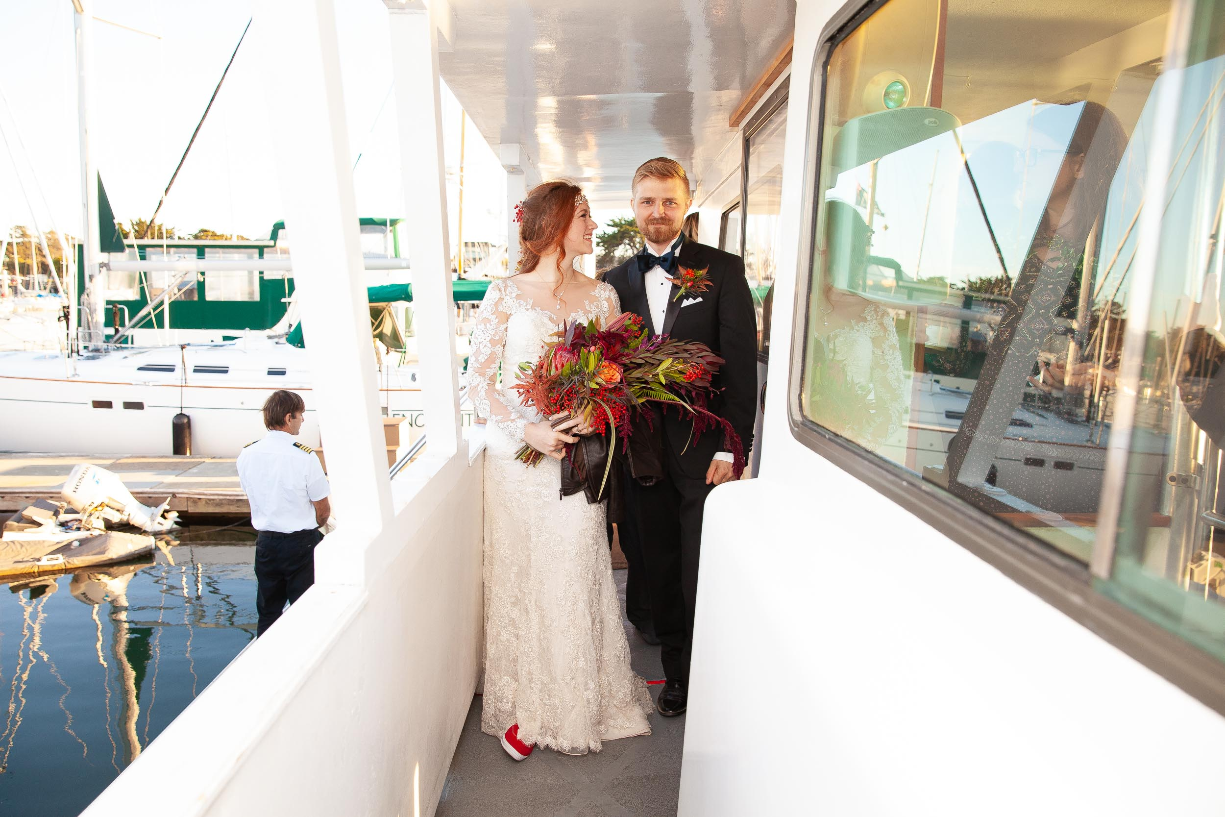 Berkeley Botanical Garden Wedding Ceremony in the Redwood Grove Ceremony and SF Bay Wedding Cruise Reception-64.jpg