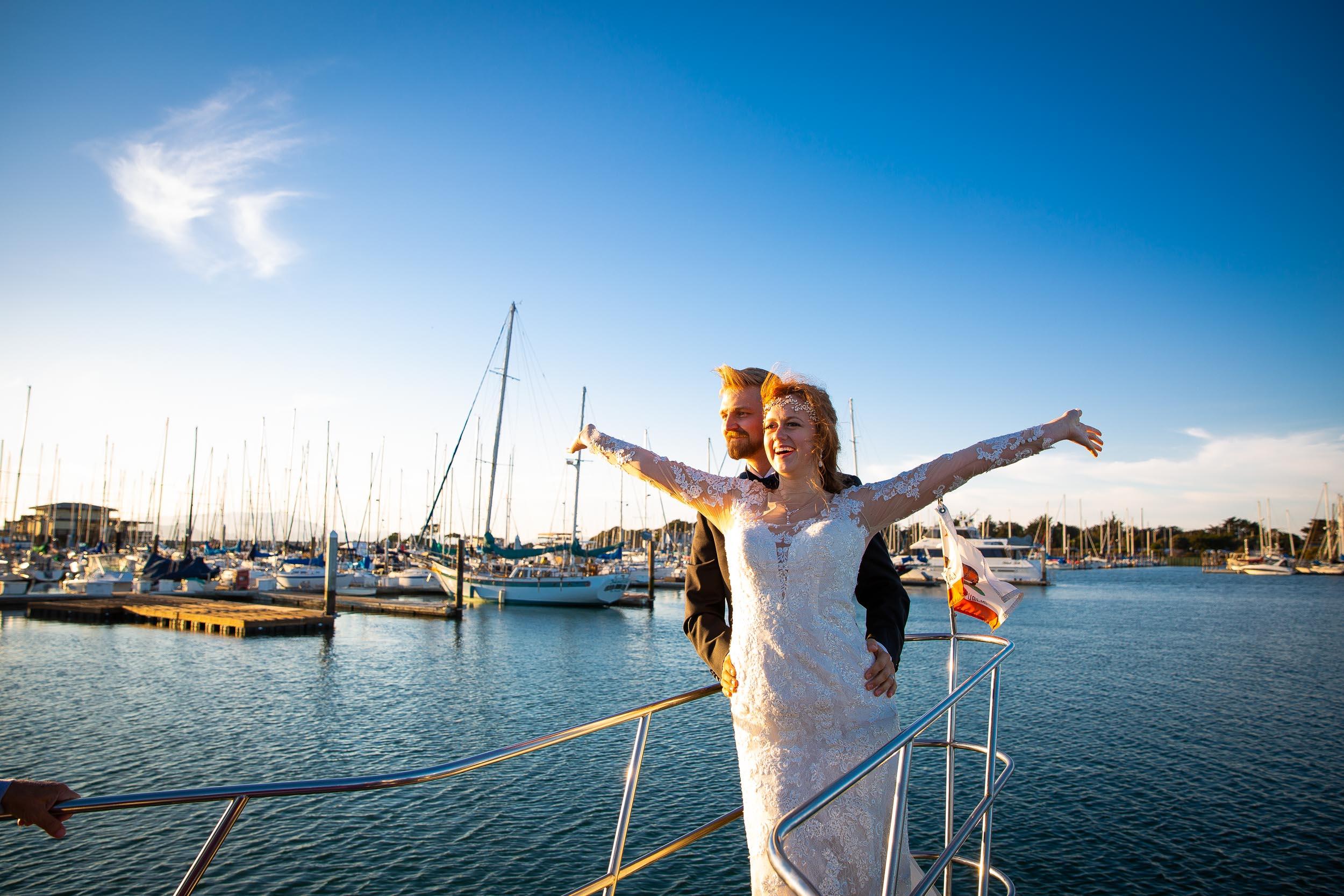 Berkeley Botanical Garden Wedding Ceremony in the Redwood Grove Ceremony and SF Bay Wedding Cruise Reception-72.jpg