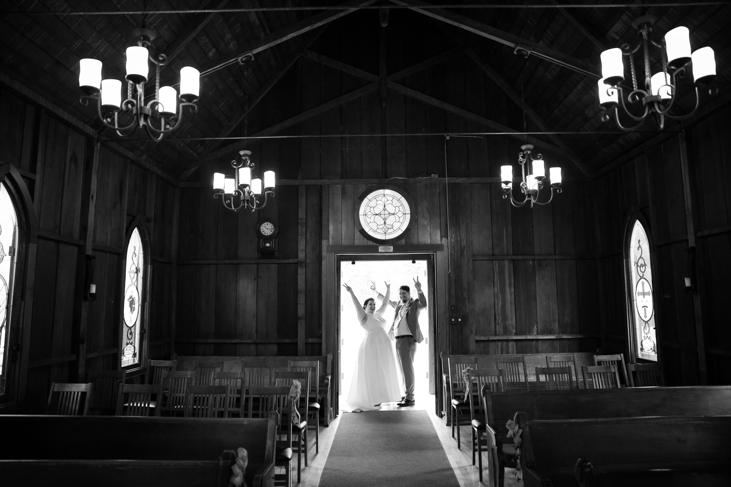 Small California Wedding at St. Luke's Episcopal Church in Jolon