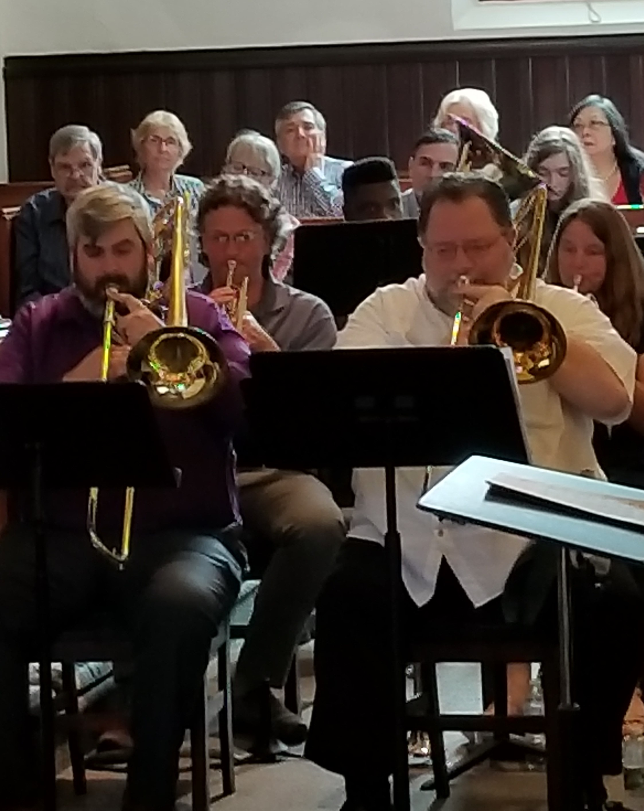 Instrumental Music - At SUMC we encourage instrumentalists in the congregation to share their gifts in worship as they feel comfortable. There are often opportunities to perform in an ensemble or as a soloist. New instrumentalists are always welcome!Contact Bridget for more information.