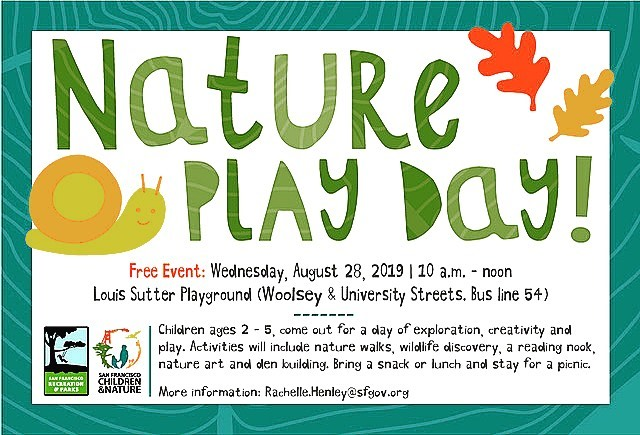 Join us tomorrow, Wednesday 8/28 for San Francisco's 1st ever Nature Play Day! It's a free event! So many fun activities will be set up for kids to interact with nature and the community🌻 #ManaKids is organizing iSpy #naturegames #mandala #art #activity #fun #activitiesforkids #sanfrancisco #natureplayday2019 other organizations are participating too! SF Children & Nature, SF Rec & Park, Dept of Environment, Presidio Trust, National Park Service, GG National Parks Conservancy, YMCA, Cal Academy, Randall Museum, First5 + more