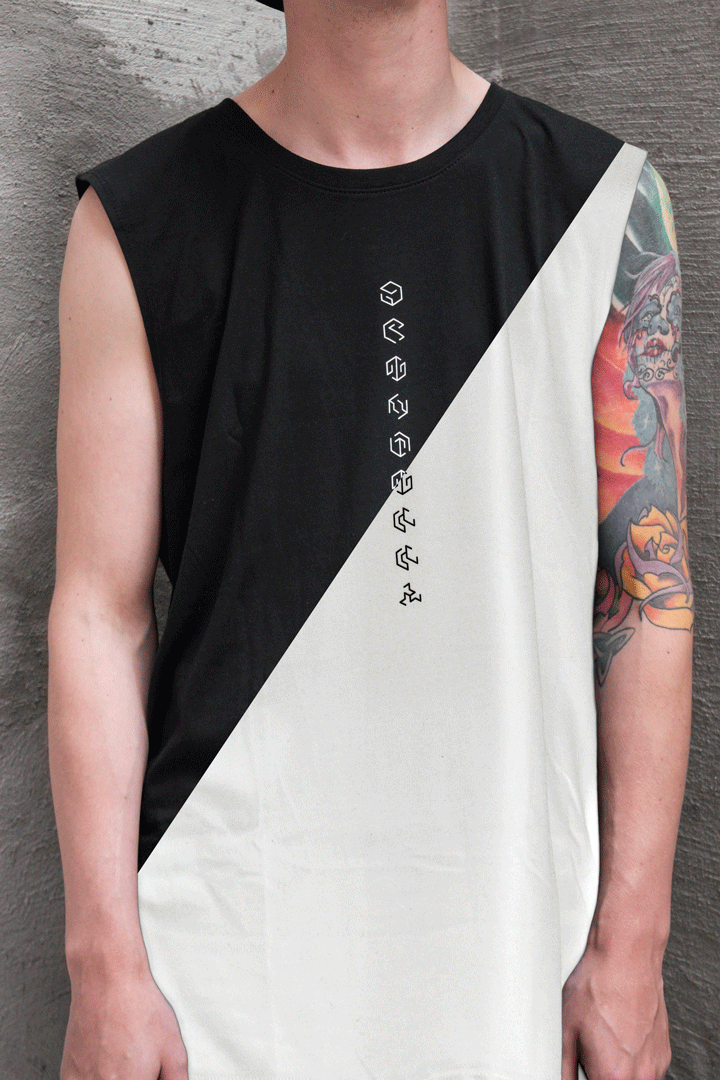 CRYPTIC SLEEVELESS T