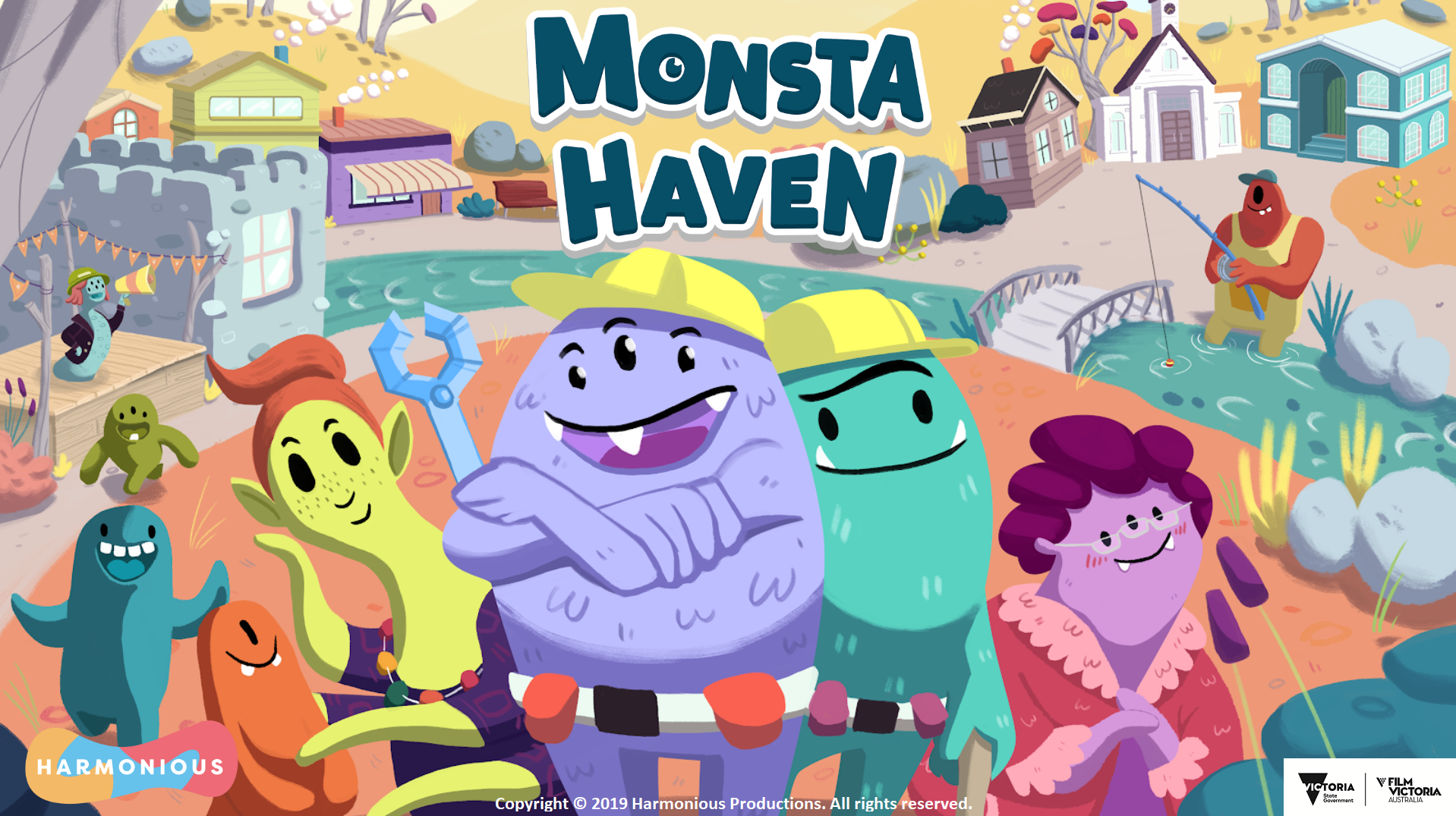 Monsta Haven Prototype - To hone our skills as game developers, Harmonious created an adorable prototype for a multiplayer building simulator about Monstas finding a place to call home. This was worked on over the course of several months and is an unreleased prototype. This is a project the team works on during downtime between other projects.