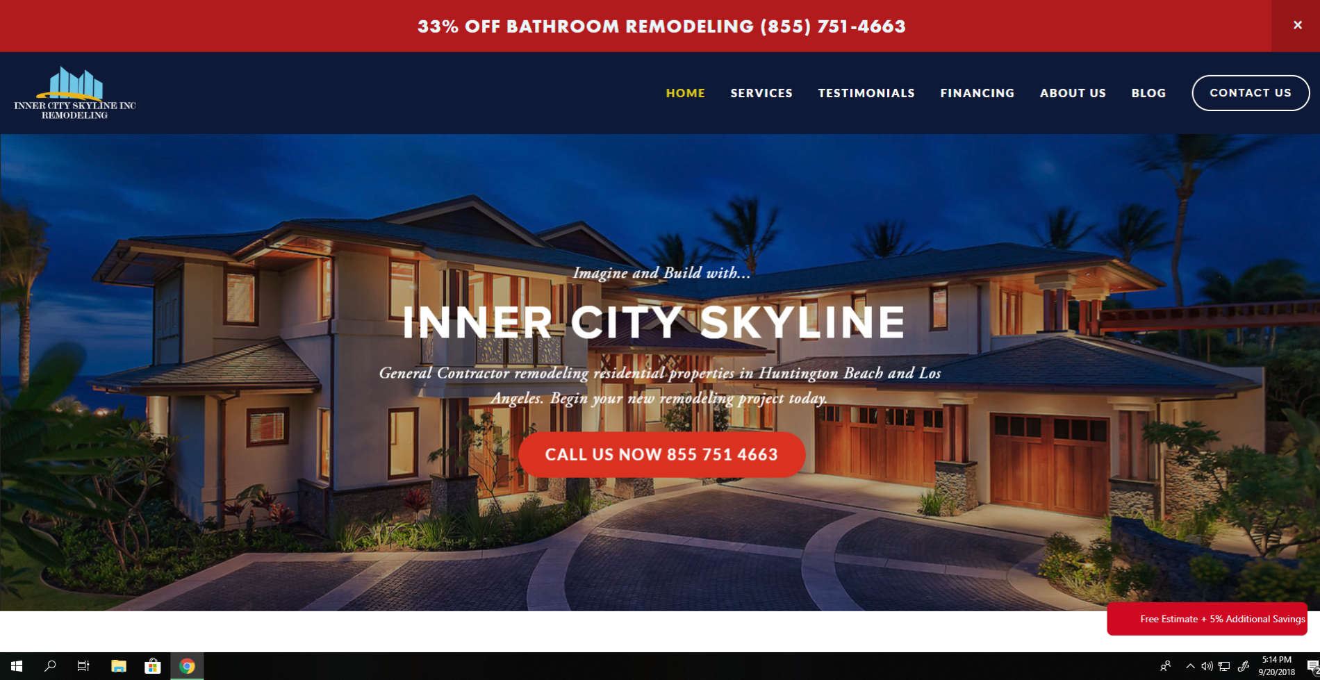 Inner City Skyline Remodeling and Construction Case Study