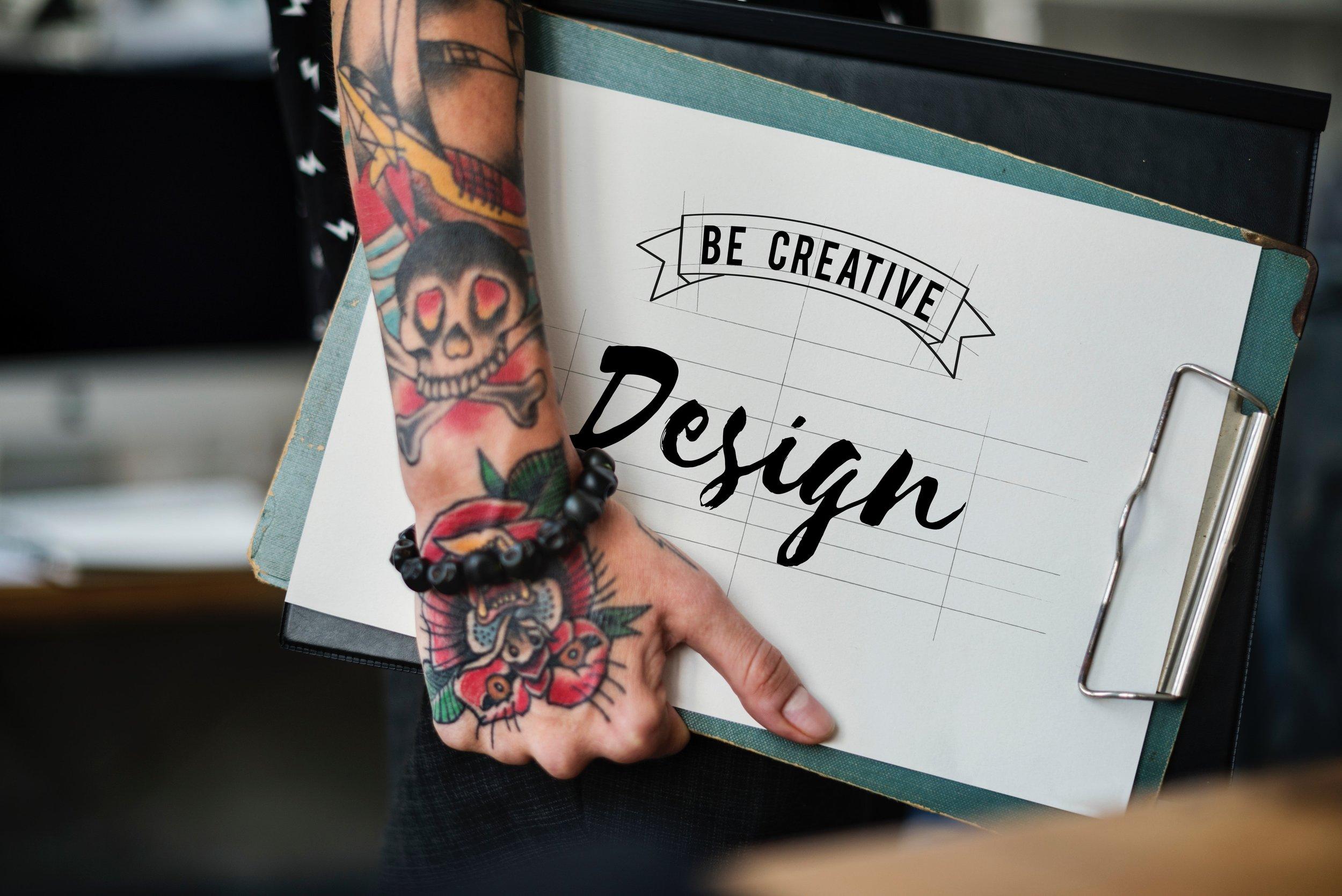Sketching your inspired Website