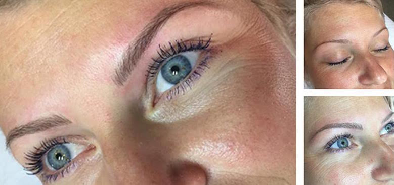 From too-skinny to beautiful and flattering - microblading and feathering