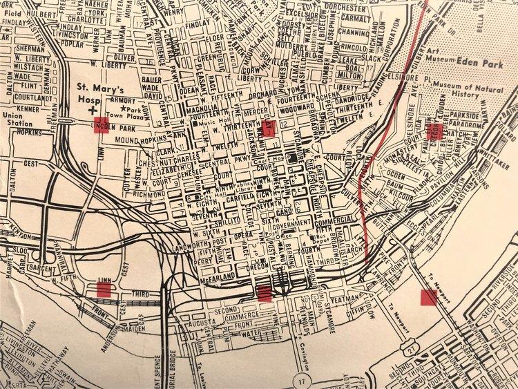 cincymapcollection — The Cincinnati Map Collection on