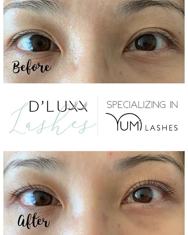 ed3a3ae9dea Karen had her YUMI lashes done for the first time back in November. She  loved