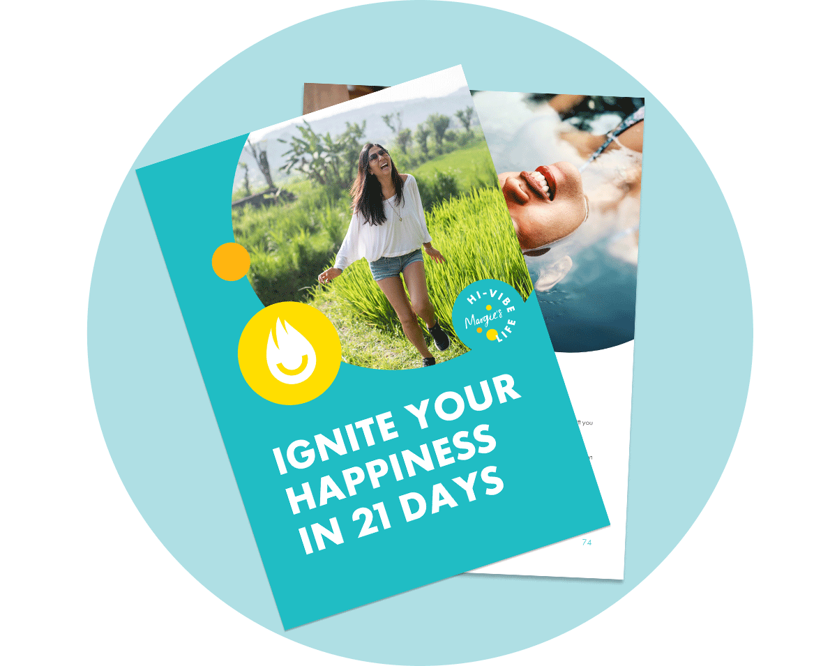 Ignite Your Happiness in just 21 Days - Daily rituals are a key component to personal transformation. To support you on your happiness journey, download my free guidebook on positive daily rituals.