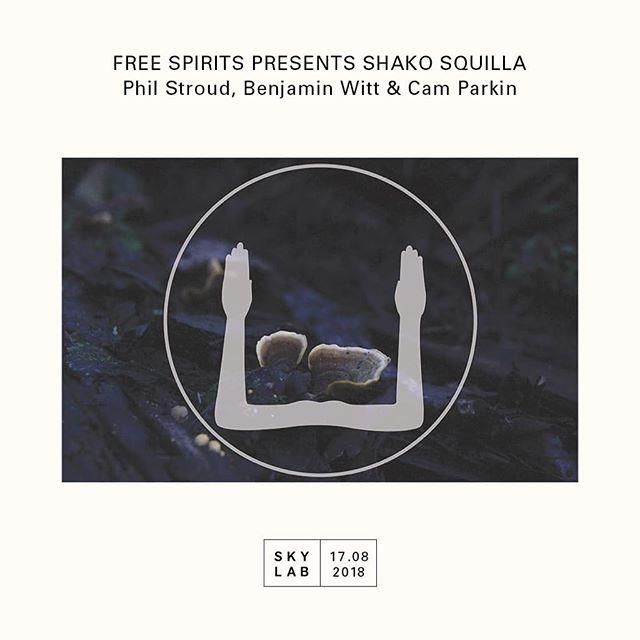 Skylab radio special__ Free Spirits present  S H A K O S Q U I L L A live @skylab_radio