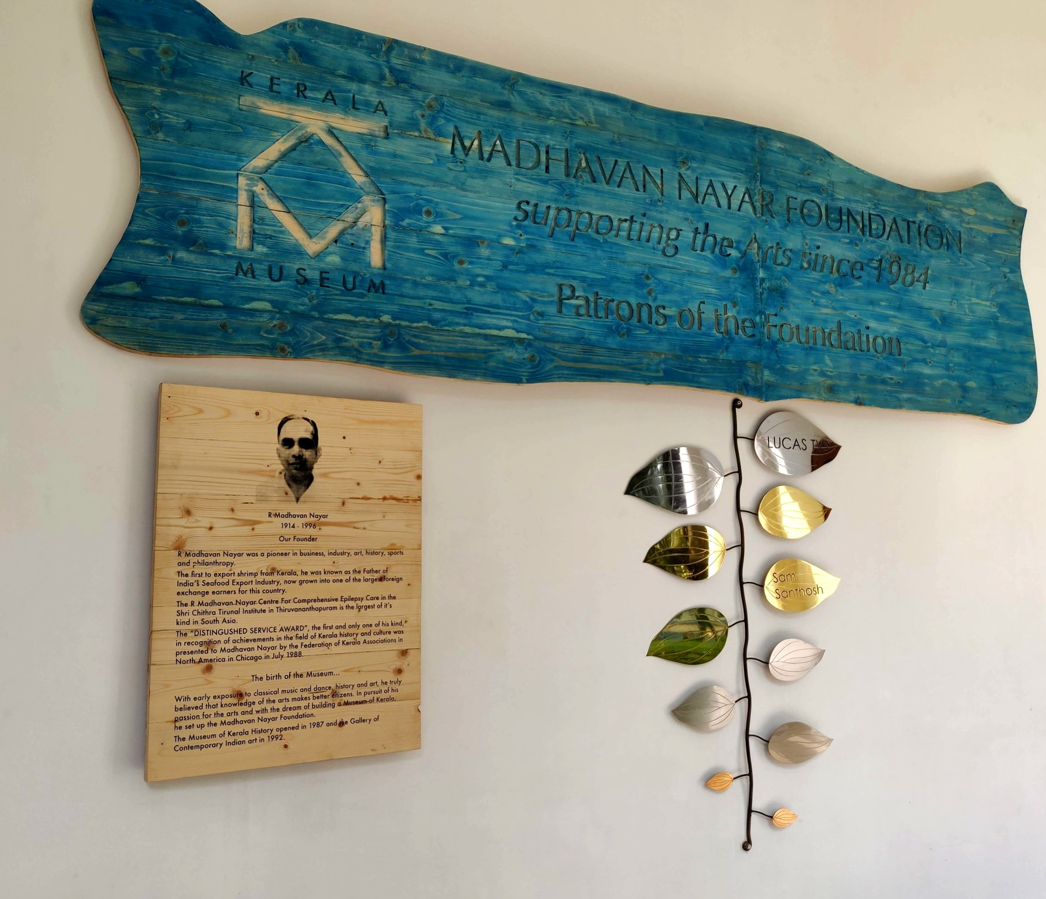 Leave a legacy for the future - Become a patron of the Kerala Museum