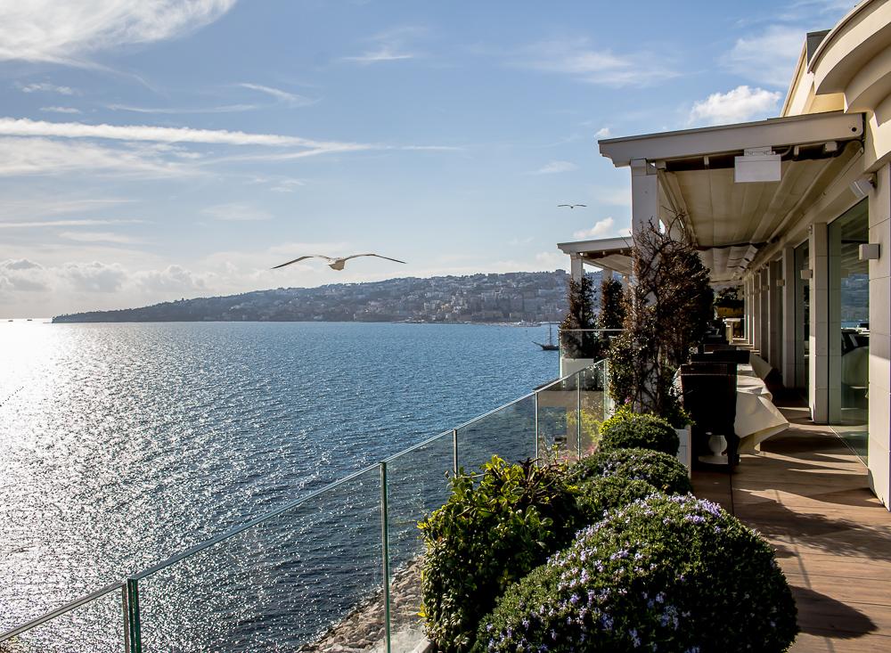 20th March 2019 - Naples, view from the Grand Hotel Vesuvio (picture  Alessia )