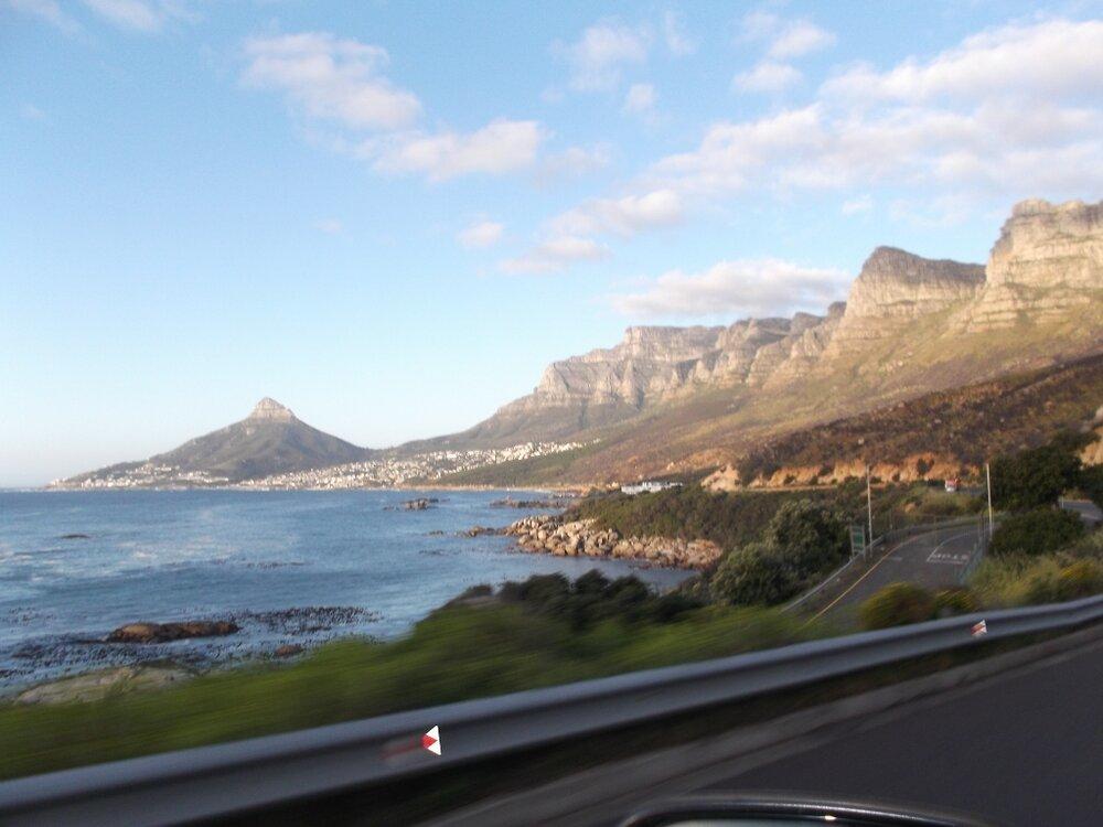 Am Meer entlang bis Kapstadt