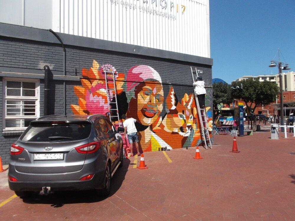 Kunst in Kapstadt.