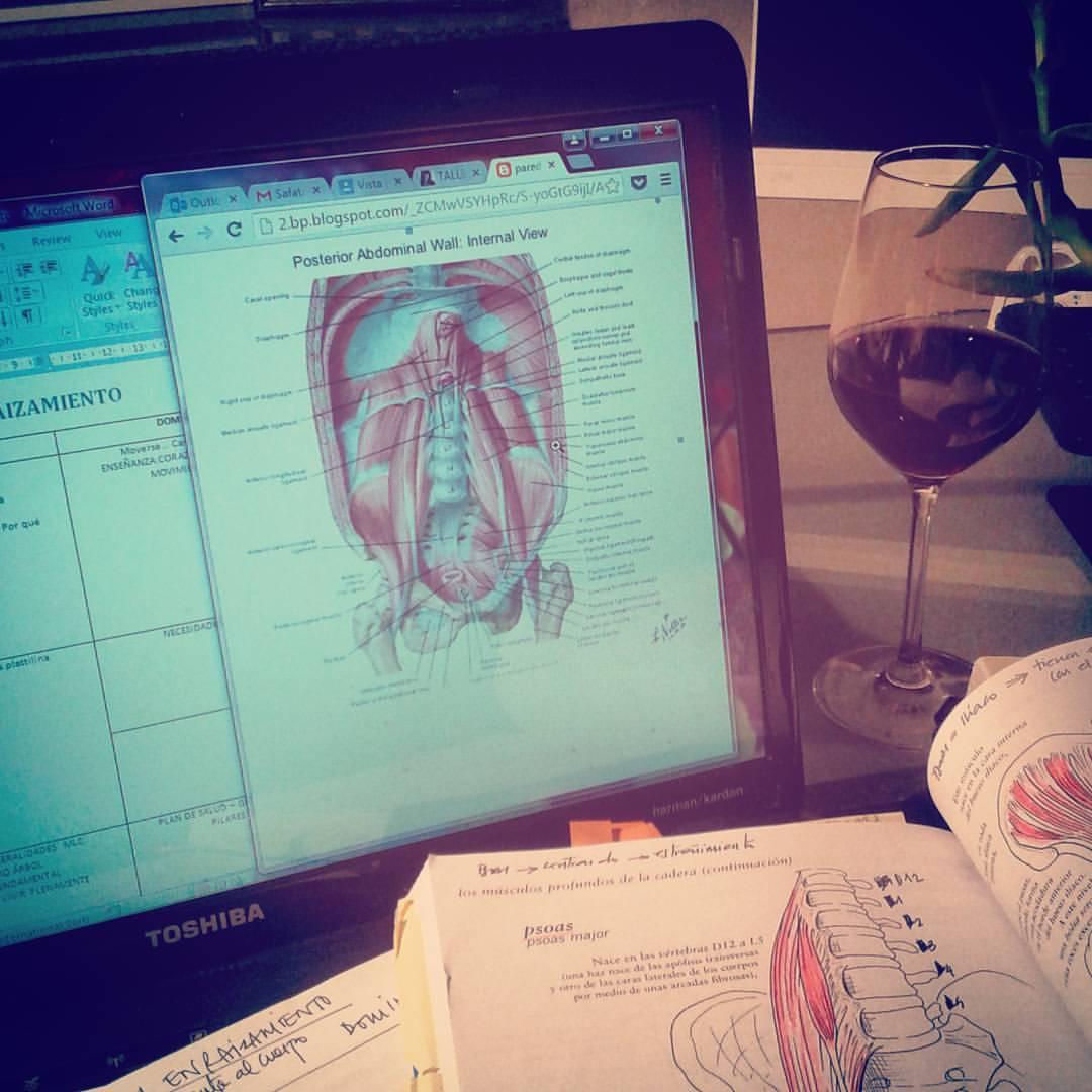 """Trabajar y disfrutar. Preparando la parte """"corporal"""" del taller EL ENRAIZAMIENTO.   #anatomiayvino #porqueyolovalgo #mlcrocks #mlceverydamnday  #inspiramovimiento  (at Nuremberg)"""